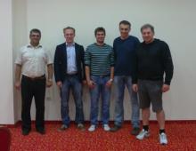 Željko Bogut, Markus Ragger, Ivan Galić, Ivan Bender, Augustin Brnas (nedostaje Gordan Markotić)