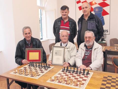 Nikola Bubica, Filip Kulušić, Miho Karač, Dinko Bakulić i Vicko Marunčić