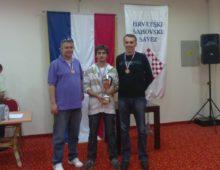 Ivo Ivanković, Daniyyl Dvirnyy i Ivan Bender (nedostaju Ivan Galić i Tomislav Šeparović)