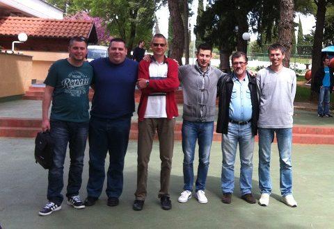 ekipa Dubrovnika u Sv.Filip jakovu Tomislav Musić, Vlaho Marunčić, Ante Luetić, Marko Jelčić, Faruk Lošić, Zdenko Bender