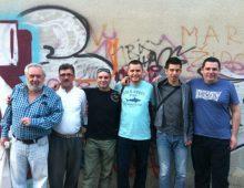 Dubrovčani na gostavanju u Splitu: Vicko Marunčić,Faruk Lošić,Žan Glišović,Tomislav Musić,Marko Jelčić i Vlaho Marunčić